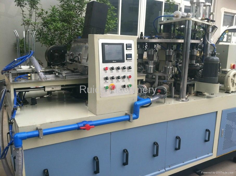 Paper Cup Forming Machine with Auto Lubrication 1