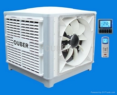 18000CMH Axial Fan Evaporative Air Cooler (1 speed, side/up/down discharge)