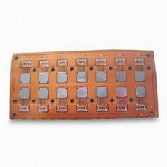 Flexible PCB with PET Material and Green Solder Mask, for the Application of Aut