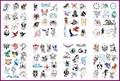 stencils airbrush tattoo 100 desing vinyl reusable - Product Catalog -
