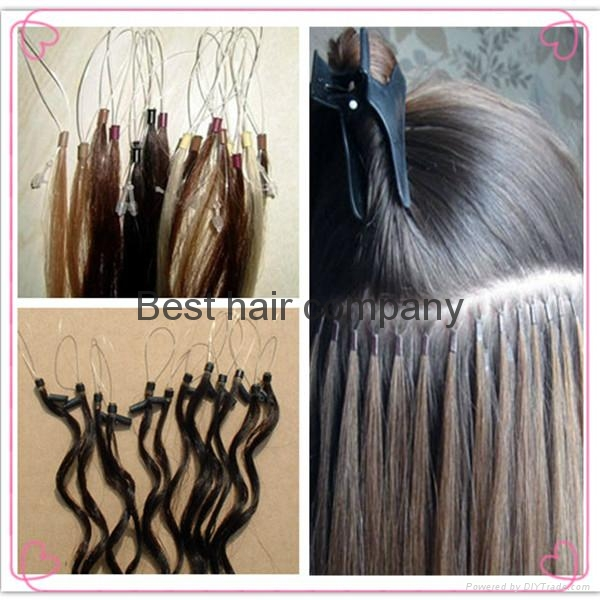New Style Brazilian Remy Human Micro Loop Ring Hair Extensions
