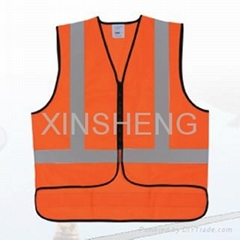 safety vest with customers logo