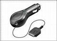 Tinpec  Retractable-Cable  Car  Charger for iPhone4s