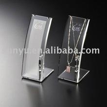 L-shaped Jewelry display