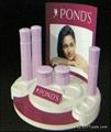 Cosmetic display racks 4
