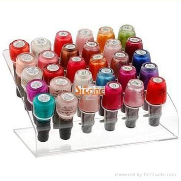 nail polish floor standing rack display 1