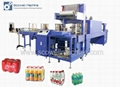Full-automatic Hot Shrink Film Wrapping Machine For Bottle Beverage and Water