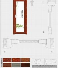 aluminum profile for washing door