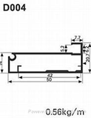 aluminum profile for kichen door frame