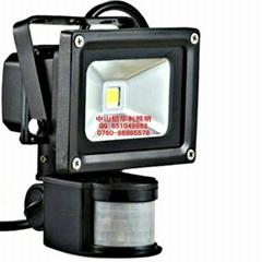 專業生產LED人體感應燈,感應投光燈,感應氾光燈