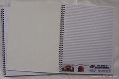notebook, sprial notebook,notepad, memo pad