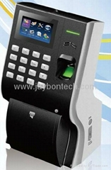 BZ400 Fingerprint Time Attendance Access Control Mutli-Biometric