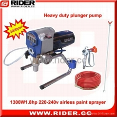 1300W  1.75HP spray paint machine