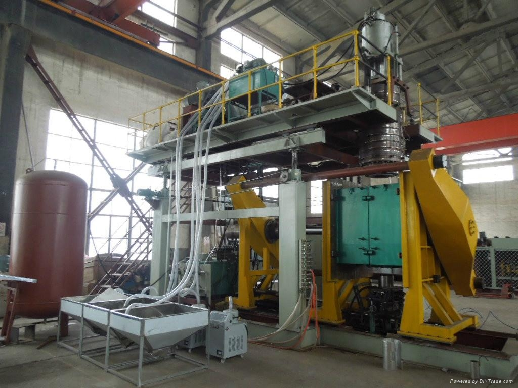 1000l Blow Moulding Machine For Water Tank China Trading