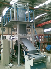 TLG series double layers blowing film machine