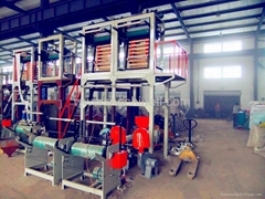 TL series double-head blow film extrusion machine