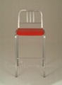 Aluminum Navy Bar chair
