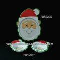 Melamine santa dinnerware