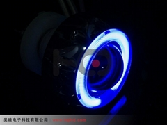 2.0 inch motorcycle Bi-xenon projector lens light with Angel eyes ABC