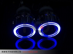 2.5 inch HID Bi-xenon projector lens light with Angel eyes 2.5HQ