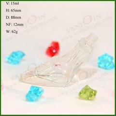 1/2 oz Empty Perfume Glass Bottle