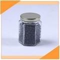 Hexagon Glass Honey Jar