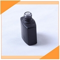 0.25oz Nail Gel Black Glass Bottle For UV Protection