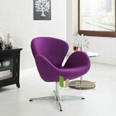 Jacobsen inspired swan chair