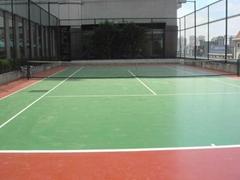 Full PU Tennis Court Surfacing Materials