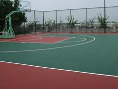 Full PU Basketball Court Flooring Materials