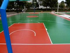 Silicon PU Court Flooring Materials