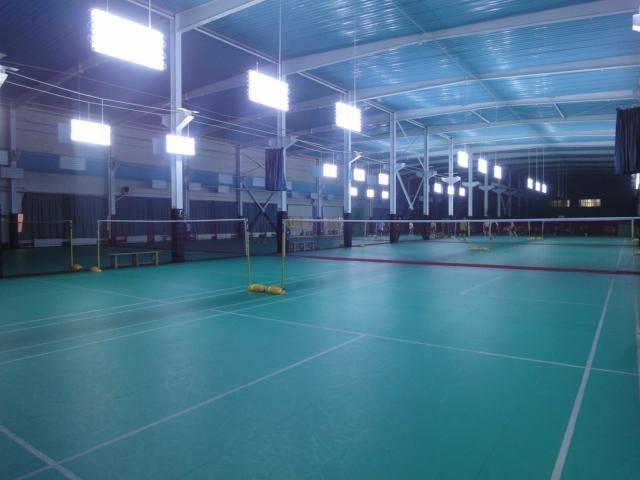 Silicon PU Badminton Court Materials 1