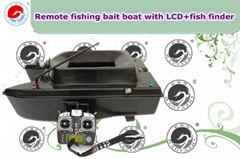 Remote Control Fishing Bait Boat with LCD