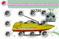 Remote Fishing Bait Boat with LCD