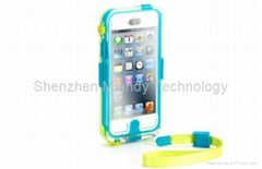 Griffin Survivor Catalyst Waterproof Case Transparent Shell Defender for iPhone5