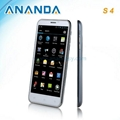 5.7inch HD MTK6589 Quad Core Android 4.2 3G Dual SIM Mobile Phone Galaxy S4  2