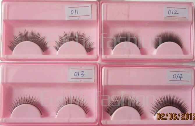 High quality handmade false eyelashes  3