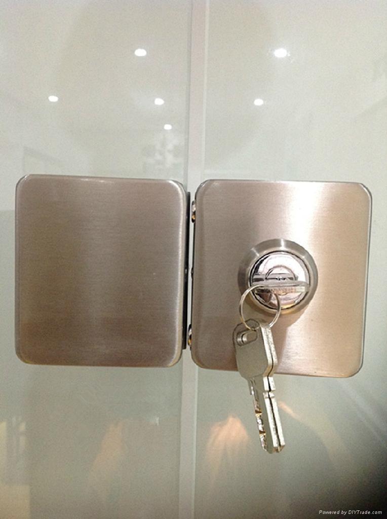玻璃門鎖 2