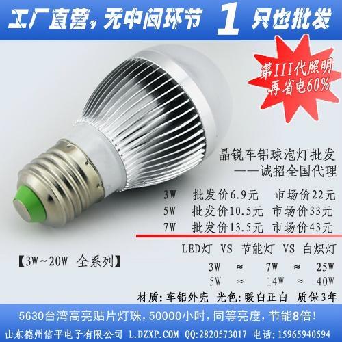 led节能灯泡 2