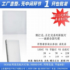 led面板燈12w