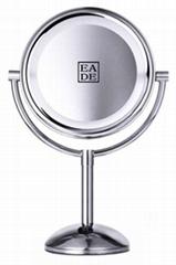 Desktop makeup light mirror