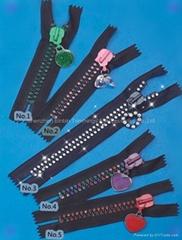 10#Diamond Zipper/Crystal Zipper