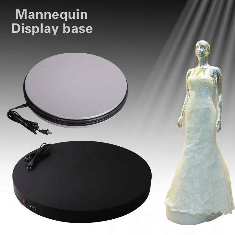婚紗模特架展示電動轉盤 平穩無聲轉動 外觀精美 1