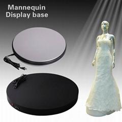 婚紗模特架展示電動轉盤 平穩無聲轉動 外觀精美