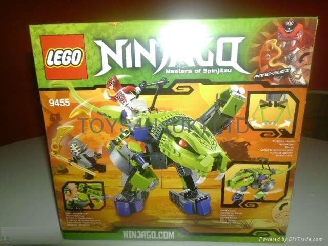 Lego Ninjago Set #9455 Fangpyre Mech 1