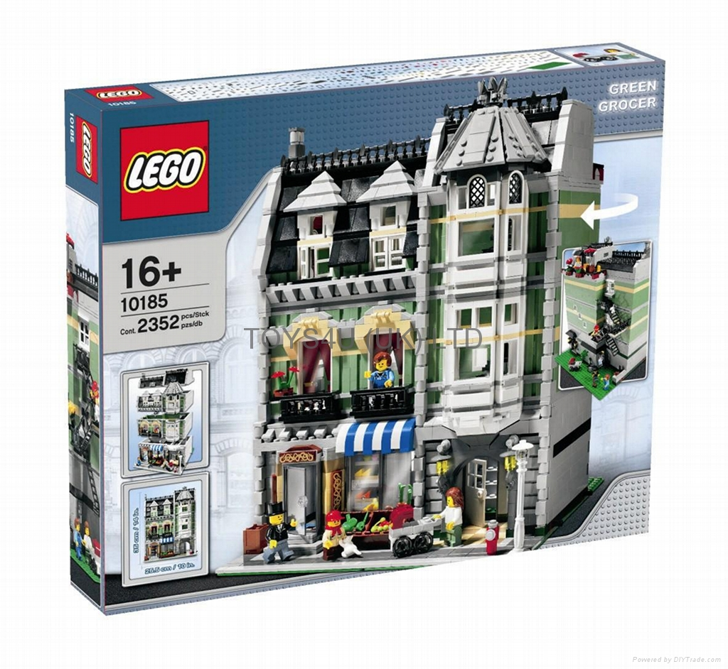 Lego City Set #10185 Creator Green Grocer (China ...