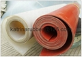 high temperature resistant silicone rubber sheet/material