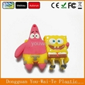 factory price SpongeBob shape usb flash memory, customized usb drives