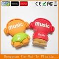 custom music boy shaped pvc usb key,