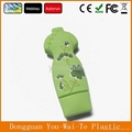 Full Capacity Cheap Cheongsam Shape PVC USB Flash Disk With Customized Logo 3